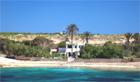 Cala Francese Lampedusa villa le due palme