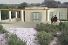 Lami Vendesi rudere con progetto Lami Lipari