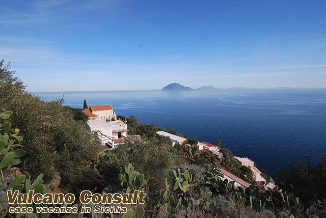 Villino panoramico island of  Alicudi