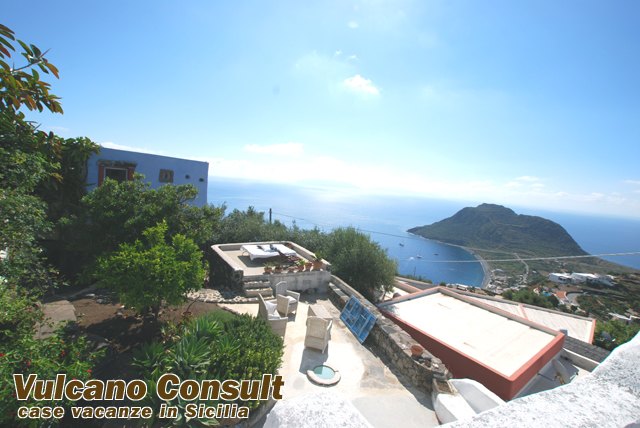 Indipendent villa in Filicudi island