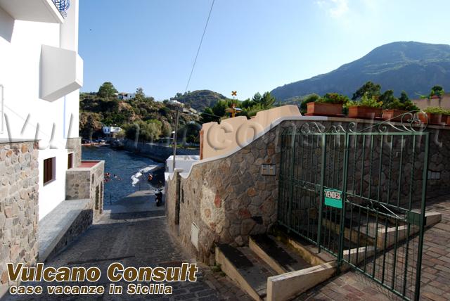 Casetta Porto delle Genti isola di Lipari