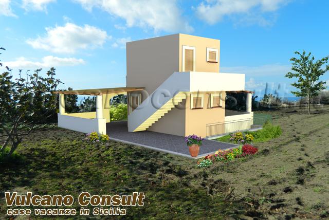 Terreno progetto per villetta Pianoconte Lipari