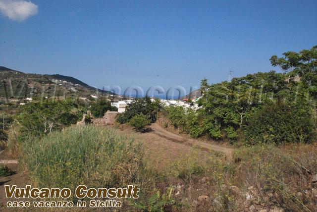 Vendesi rudere con progetto zona Monte Lipari