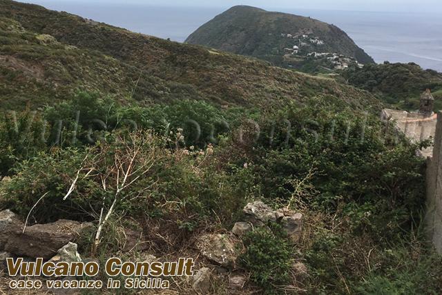 Rudere con terreno Santa Margherita Lipari