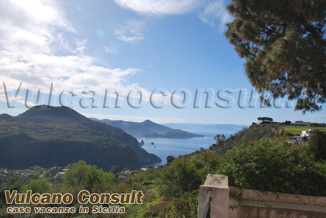 Vendesi nuda proprieta villa Pianoconte Lipari