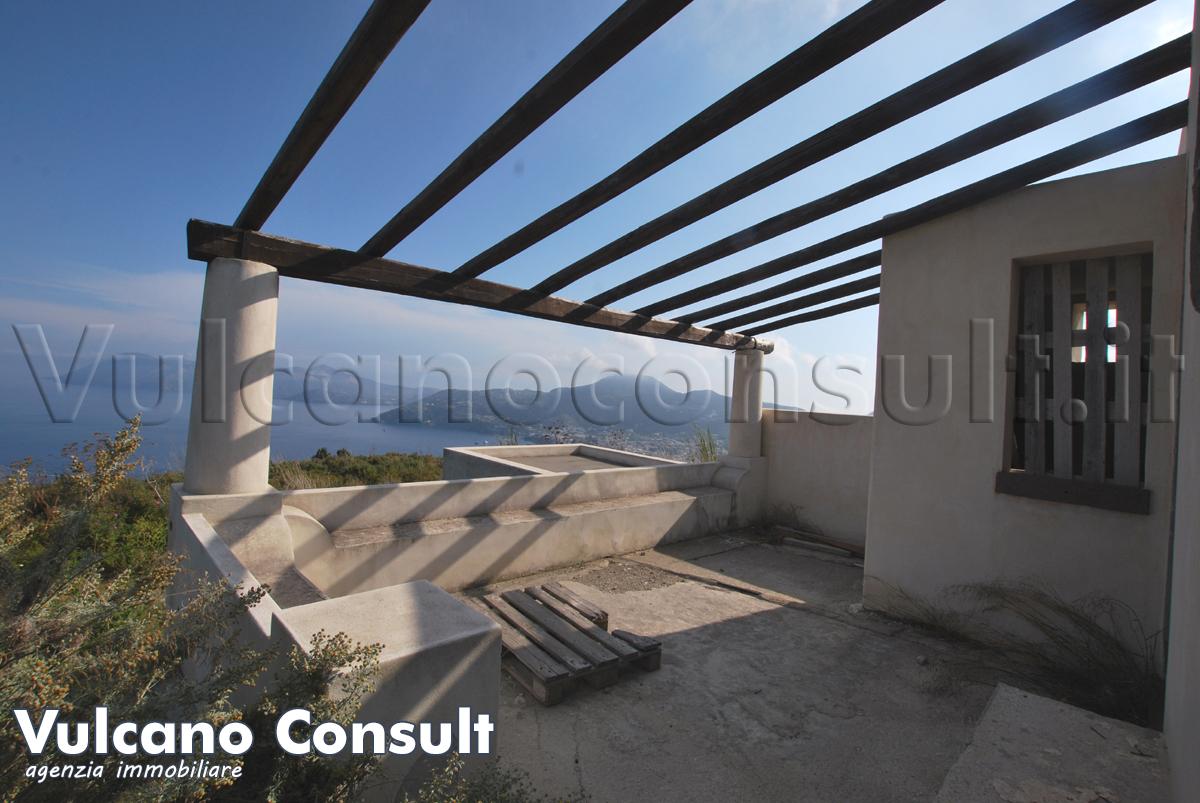 Casetta panoramica Monte Rosa Lipari