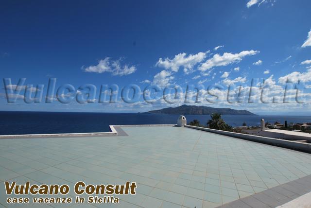 Vendesi villa belvedere Santa Marina Salina