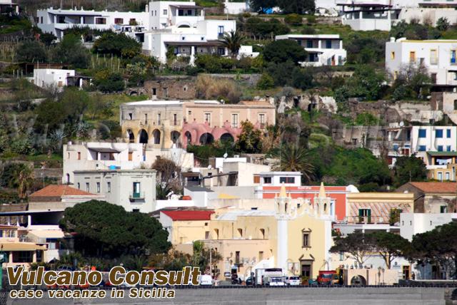 Ancient villa Santa Marina Salina